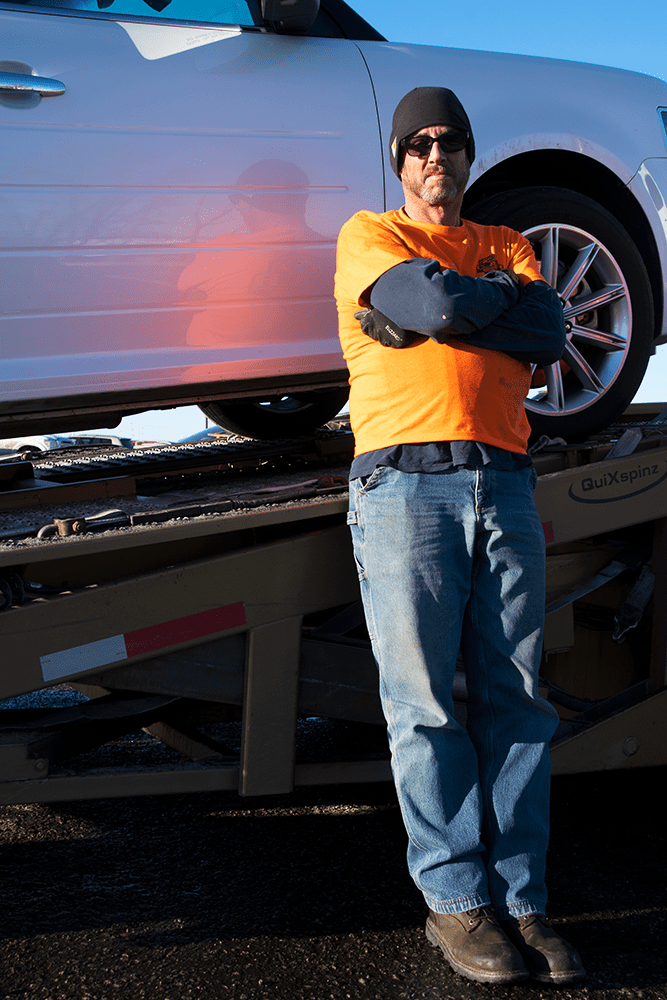 Cary, Car Transport driver at Manheim Kansas City