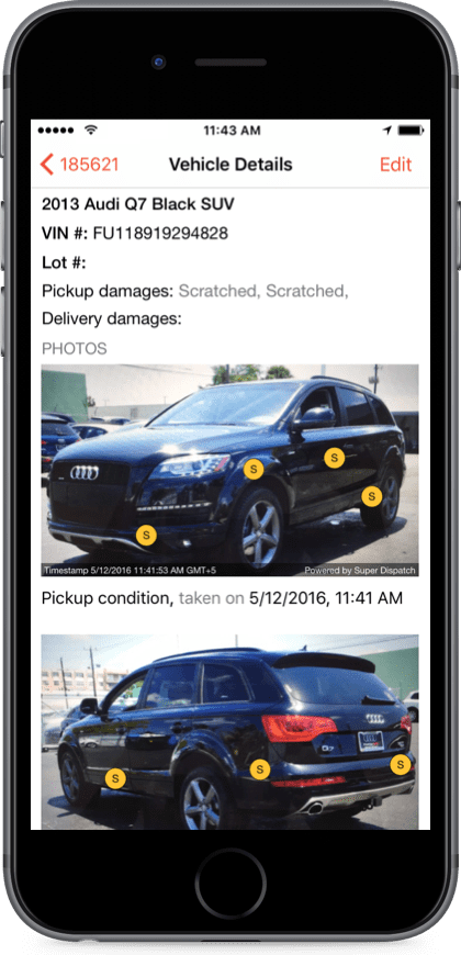 car haulers love super dispatch, download the free Super Dispatch app. Free Load boards vs. Central Dispatch ad